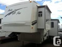 32 foot 5th wheel - four season camping. Bought new in