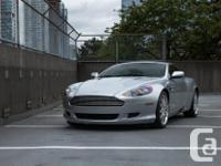 Make Aston Martin Model DB9 Year 2006 Colour Silver