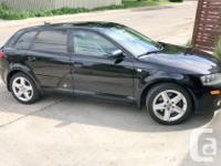 Make Audi Model A3 Year 2006 Colour Black kms 207000
