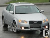 2006 Audi A4 2.0 T quattro with Tiptronic  Year :2006