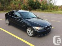 Make BMW Model 325i Year 2006 Colour Black Trans