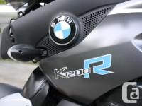 2006 BMW K1200R (silver) for sale Inline four, 160 hp,