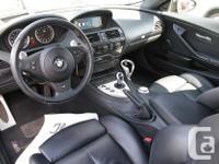 Make BMW Model M6 Year 2006 Colour Black kms 130000