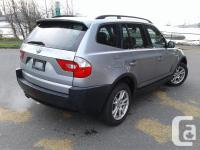 Make BMW Model X3 Year 2006 Colour Grey kms 222000 For