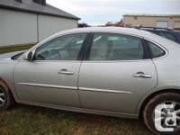 Make. Buick. Year. 2006. Colour. gray. kms. 165000. for