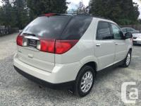 Make Buick Model Rendezvous Year 2006 Colour White kms