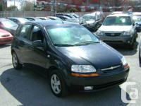 Make Chevrolet Model Aveo Year 2006 Colour Black kms