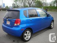 Make Chevrolet Model Aveo5 Year 2006 Colour BLUE kms