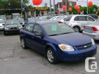 Make Chevrolet Model Cobalt Year 2006 Colour Blue kms