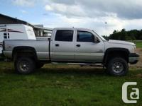This Chevrolet Silverado 2500 pick-up truck will leave