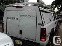 Clean, non smoker truck. Has Leer contractor cap and
