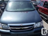 Make Chevrolet Model Venture Year 2006 Colour Blue kms