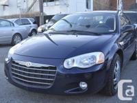 Features: Automatic, 2.7L, 6 Cyl, 4 door sedan.   Air