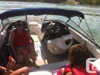 -beautiful watercraft 18ft -life jackets and toys to go
