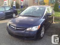 Make Acura Model CSX Year 2006 Colour Blue kms 164000