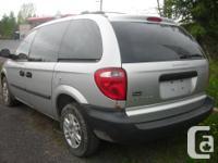 Make Dodge Model Caravan Year 2006 Colour SILVER kms