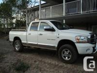 This heavy-duty pickup truck is in very good condition