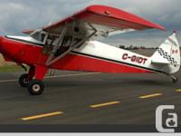 Piper Pacer with Extended Wings and Super Tips,