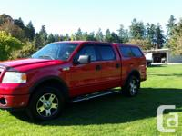 Make Ford Model F-150 SuperCrew Year 2006 Colour Red