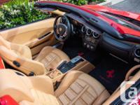 Make Ferrari Model F430 Spider Year 2006 Colour Red