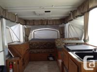 Fully loaded tent trailer. Fantastic floor plan with