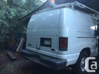 Make Ford Model E250 Year 2006 Colour White kms 124000, used for sale  British Columbia