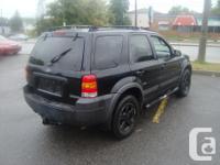 Make Ford Model Escape Year 2006 Colour Black kms