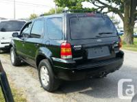 Make Ford Model Escape Year 2006 Colour Black kms
