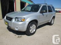 Make Ford Model Escape Year 2006 Colour SILVER kms