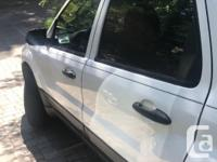 Make Ford Model Escape Year 2006 Colour White kms