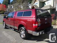 Make Ford Model F-150 Year 2006 Colour Red kms 139916