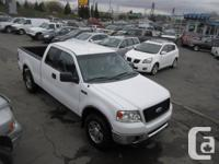 2006 FORD F150 XLT EXT CAB 4X4,WHITE ON GREY,PWR