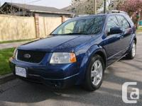 Make Ford Model Freestyle Year 2006 Colour Blue kms