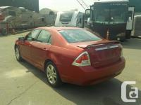 Make Ford Model Fusion Year 2006 Colour Red kms 188391