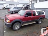 Make. Ford. Design. Ranger. Year. 2006. Colour. red.