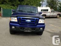 2006 Ford Ranger 4X4,automatic, local no accident,