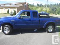 Make Ford Model Ranger Colour Blue Trans Manual kms