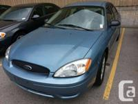 2006 Ford Taurus 224 KM Loaded with power options power