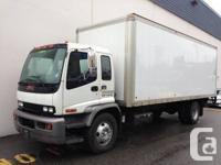 2006 GMC T7500  5 ton cube van  165.000 km  Local for sale  British Columbia