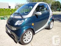 Make Smart Model FORTWO Year 2006 Colour GREEN/SILVER