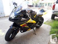 Make Suzuki Year 2006 kms 26000 2006 GSXR 750 Bike is