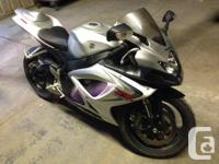 2006 gsxr 600 Never been dropped Has a couple scratches