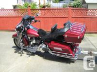 2006 Harley Davidson Classic Touring Bike - mint
