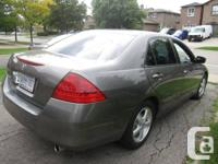 I am selling my 2006 Honda Accord with manual
