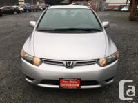 Make Honda Model Civic Year 2006 Colour Silver kms for sale  British Columbia
