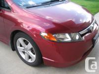 Make Honda Model Civic Year 2006 Colour Red kms 155500