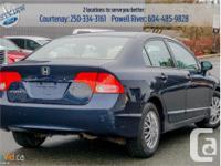 Make Honda Model Civic Sedan Year 2006 Colour Blue kms