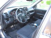 Make Honda Model CR-V Year 2006 Colour Grey Trans
