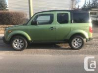 Make Honda Model Element Year 2006 Colour Green kms