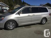 Make Honda Model Odyssey Year 2006 Colour Silver kms